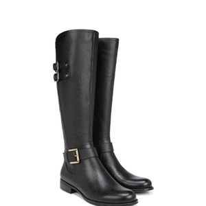 NWOB NATURALIZER Jessie leather riding boots